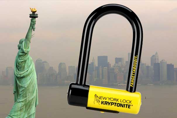 Модель замка Kryptonite New York Lock